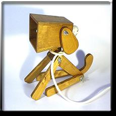 Подарочный светильник ручной работы